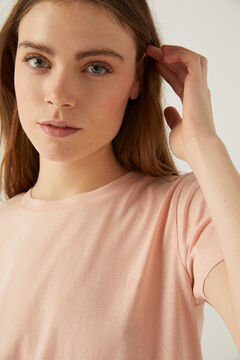 Springfield T-shirt coton biologique rose