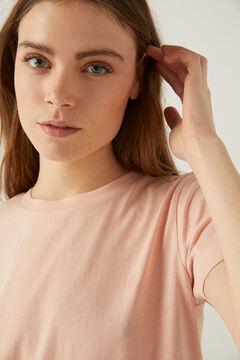 Springfield Organic cotton t-shirt pink