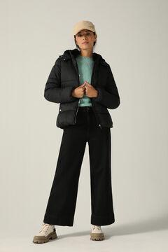 Springfield Water-repellent Sorona padded jacket black