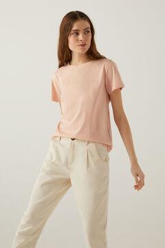 Springfield Biopamut póló rózsaszín
