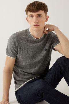 Springfield T-Shirt Zwirn grau