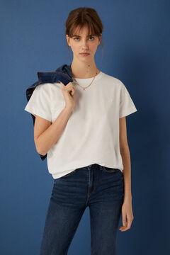 Springfield T-shirt coton biologique blanc