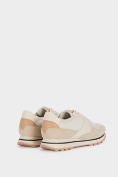 Springfield Zapatillas deportivas combinadas marrón