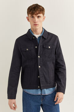 Springfield Comfort denim jacket blue
