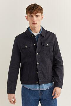 Springfield Blouson en jean comfort blau