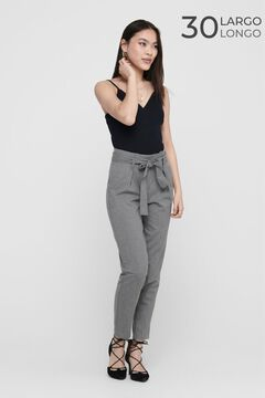 Springfield Tie waist trousers silber