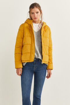 Springfield Short Quilted Jacket ocher