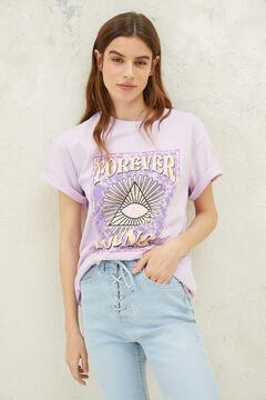 Springfield Graphic print t-shirt purple