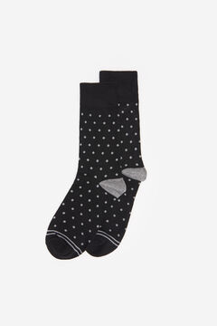 Springfield POLKA-DOT SOCKS black
