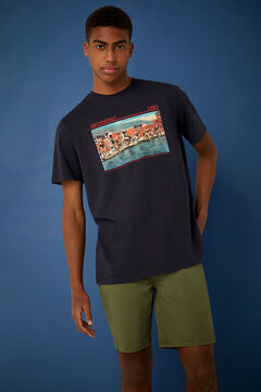Springfield Retro T-shirt blue
