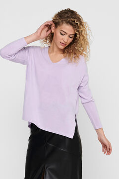 Springfield Striped jumper lilac