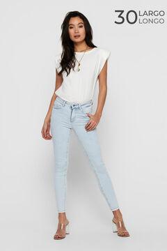 Springfield Elasticated jeans bluish