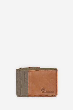 Springfield Combination fabric purse dark gray