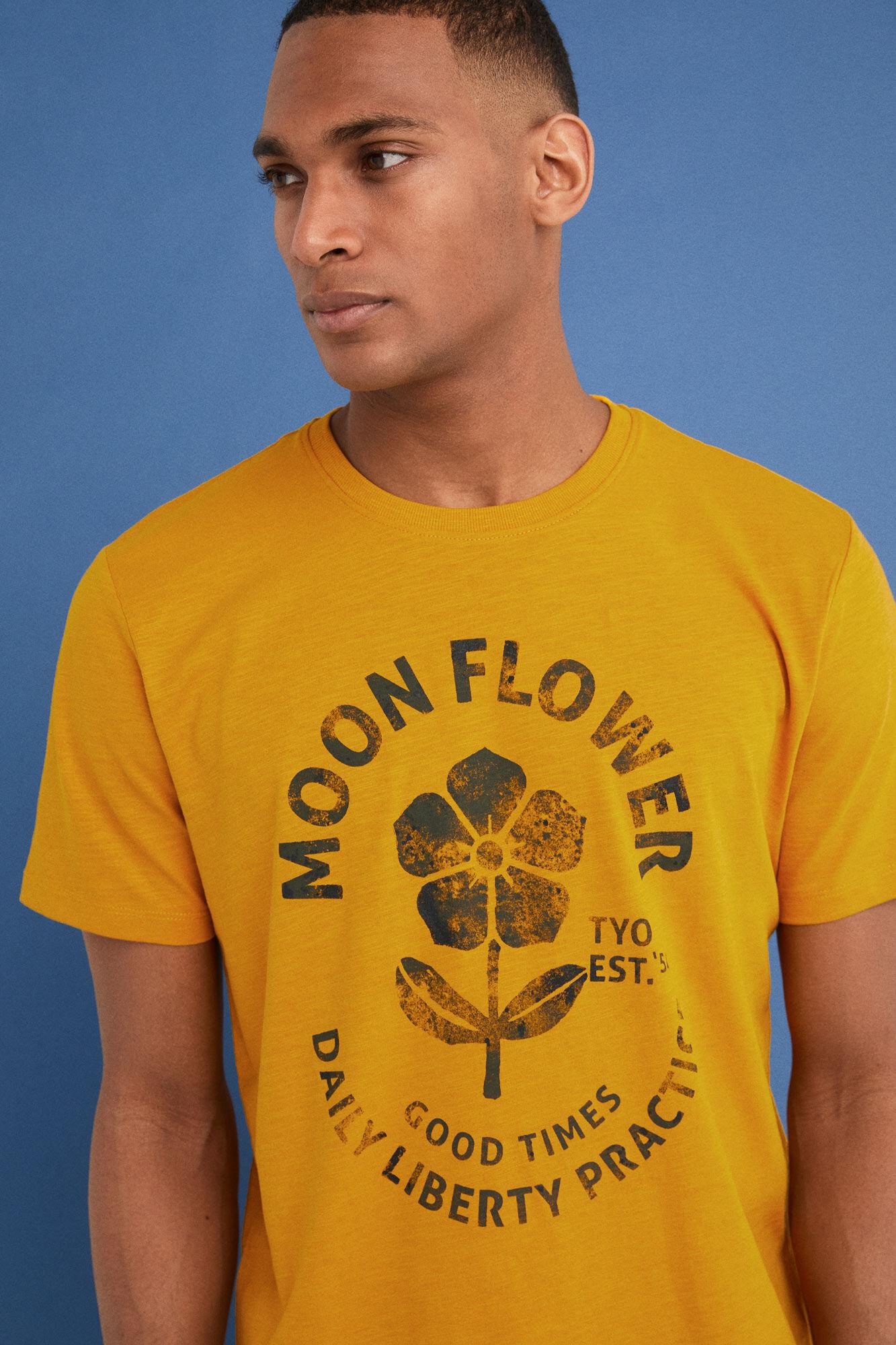 Short sleeved watercolour t shirt