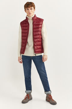 Springfield Quilted gilet with DUPONT™ Sorona® padding. red