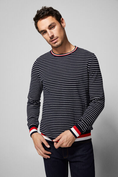 Springfield - Tipping sleeve jumper - 3