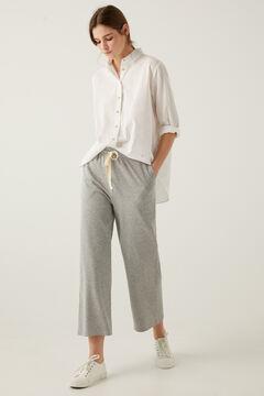 Springfield Organic Cotton Plush Culottes grey