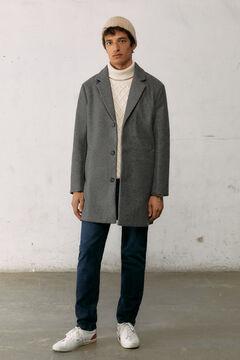 Springfield Comfort stretch coat grey