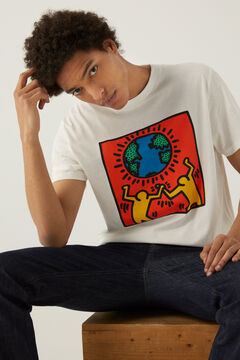 Springfield Keith Haring t-shirt ecru