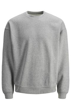 Springfield Plain round neck sweatshirt gray