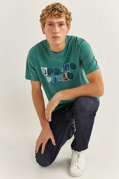 Springfield Logo t-shirt green