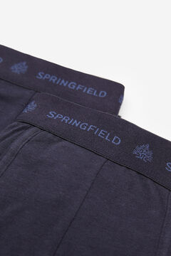 Springfield 2-pack essentials boxers blue