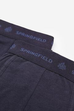 Springfield Pack 2 bóxers básicos azul