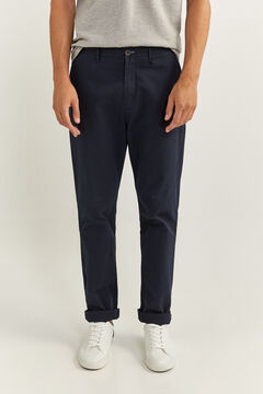 Springfield REGULAR FIT CHINOS navy