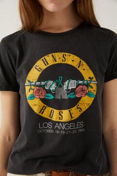Springfield T-shirt « Guns'n Roses » gris