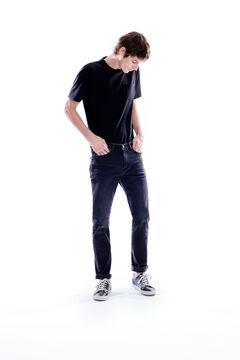 Springfield Jeans slim negros negro