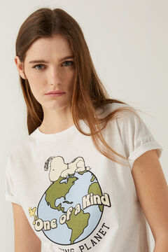 "Springfield ""Snoopy"" t-shirt white"