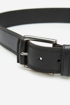 Springfield Leather cowboy belt black