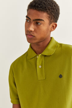 Springfield Essential piqué polo shirt oil