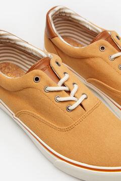 Springfield Zapatilla algodón marrón