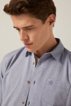 Springfield Coloured shirt bluish