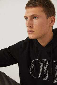 Springfield On hooded sweatshirt black