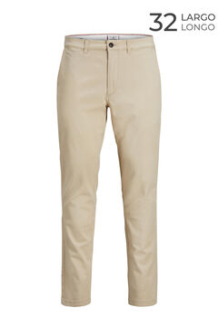 Springfield Marco slim fit chinos  brun