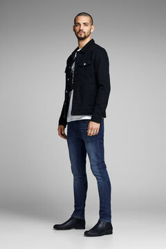 Springfield Skinny fit jeans bläulich