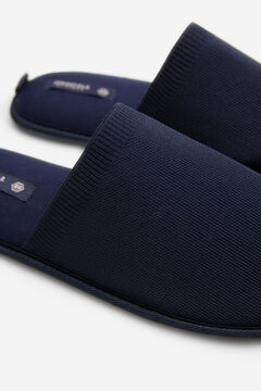 Springfield Stretch fabric slippers bluish