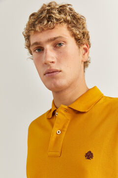 Springfield KLASSISCHES POLO REGULAR FIT camel