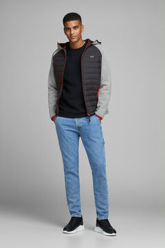 Springfield Combined padded Jacket silber