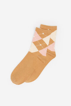 Springfield Diamond Socks beige