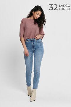 Springfield Jeans tiro alto bluish