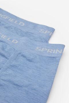 Springfield BOXER NAHTLOS blauer stahl