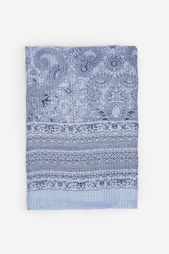 Springfield Printed scarf navy