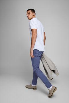 Springfield Pantalón chino Marco slim fit azulado