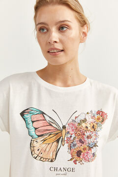 Springfield Graphic t-shirt natural