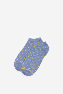 Springfield Spotty ankle socks blue