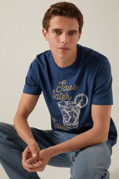 Springfield Drink T-shirt blue