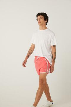 Springfield Rocky style nylon swimming shorts rust